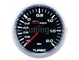 Измервателен уред Depo Racing - буустметър 2 бара