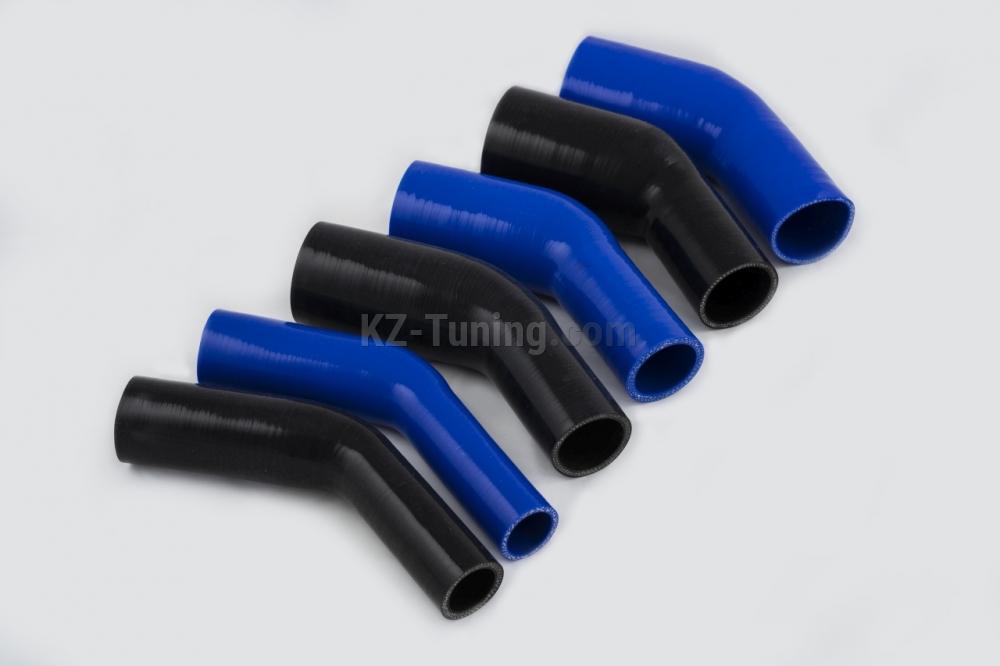 Редуциращи силиконови колена 45градуса