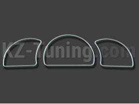 Тъмен хром рингове за Opel Astra F/Vectra A/Calibra Opel Astra F 1991-1998