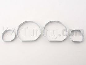 Хром рингове за табло BMW СЕРИЯ 3 Е46 СЕДАН 2001-2005